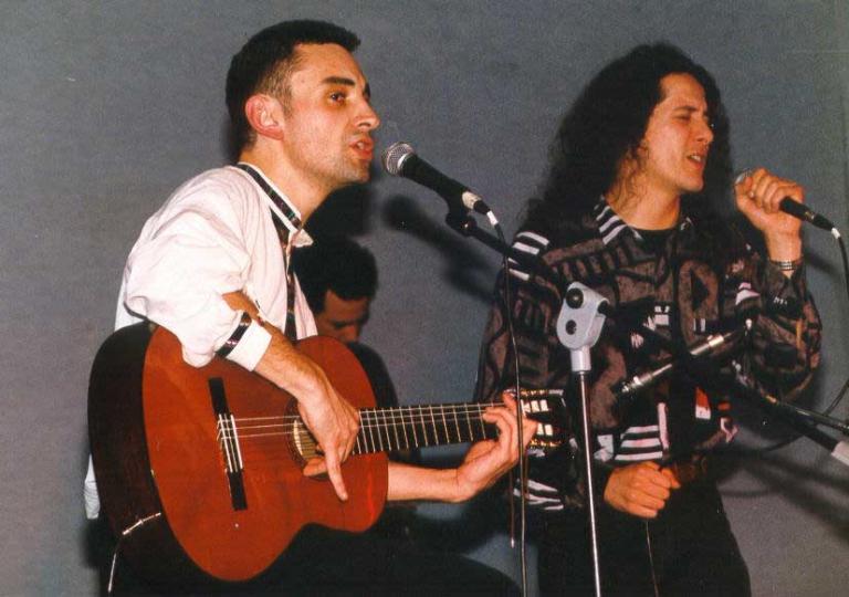 1998 03 28 - Lafcadio et Michaël Marche
